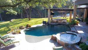 Residential Gunite Pools #001 by Pools Unlimited Inc