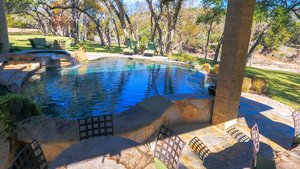 Residential Gunite Pools #002 by Pools Unlimited Inc