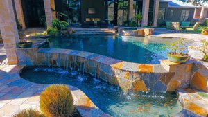 Residential Gunite Pools #003 by Pools Unlimited Inc