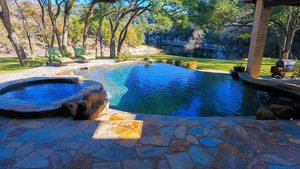 Residential Gunite Pools #005 by Pools Unlimited Inc