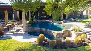 Residential Gunite Pools #006 by Pools Unlimited Inc