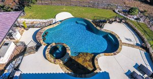 Residential Gunite Pools #011 by Pools Unlimited Inc