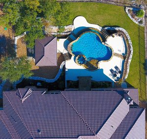 Residential Gunite Pools #017 by Pools Unlimited Inc