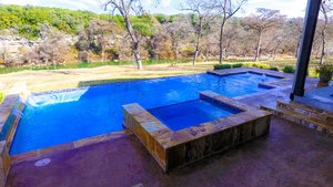 Residential Gunite Pools #022 by Pools Unlimited Inc