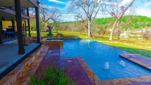 Residential Gunite Pools #025 by Pools Unlimited Inc