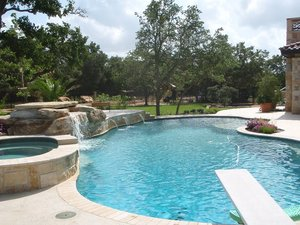 Residential Gunite Pools #030 by Pools Unlimited Inc