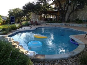 Residential Gunite Pools #031 by Pools Unlimited Inc