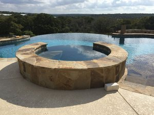 Residential Gunite Pools #032 by Pools Unlimited Inc